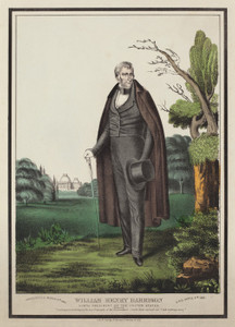 Art Prints of William Henry Harrison, 9th President of the US by Currier & Ives