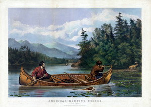 Art Prints of A Good Chance by Currier & Ives and Arthur Fitzwilliam Tait