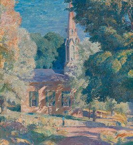 Art Prints of Stockton Church by Daniel Garber