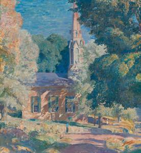 Art Prints of Stockton Church by Daniel Garber