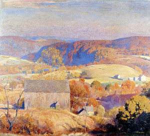 Art Prints of Autumn in Pennsylvania by Daniel Garber