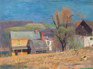 Art Prints of Bright Day, March by Daniel Garber
