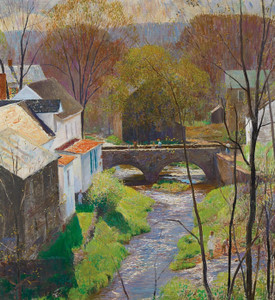 Art Prints of Carversville Springtime by Daniel Garber