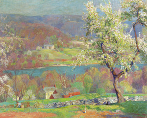 Art Prints of Byram Hills, Springtime by Daniel Garber
