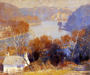 Art Prints of Down the River by Daniel Garber