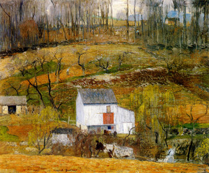 Art Prints of Grey Day, April by Daniel Garber