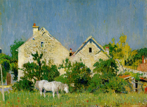 Art Prints of Houses, Croix de Berny by Daniel Garber