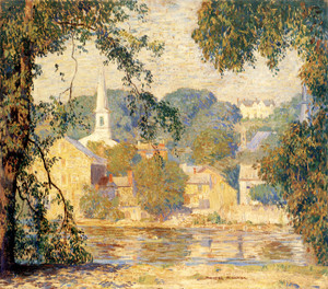 Art Prints of Lambertville Summer by Daniel Garber