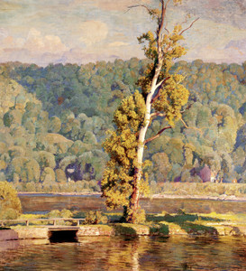 Art Prints of Lone Sycamore by Daniel Garber