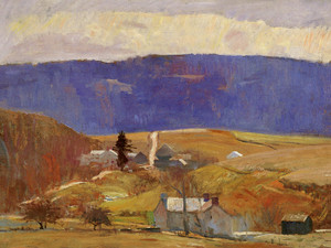 Art Prints of Milford Road by Daniel Garber