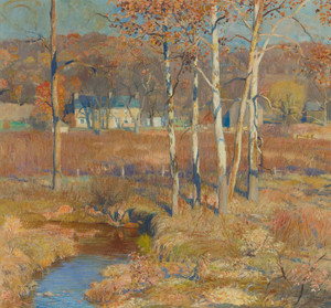 Art Prints of November by Daniel Garber