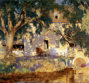 Art Prints of Old Mill Summer by Daniel Garber