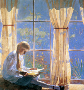 Art Prints of Orchard Window by Daniel Garber