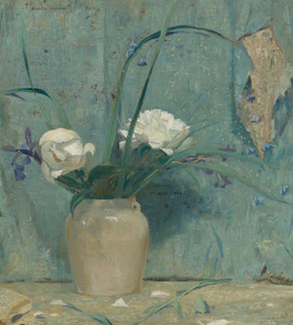 Art Prints of Peonies by Daniel Garber