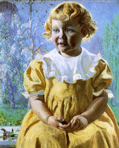 Art Prints of Portrait of Bonnie by Daniel Garber