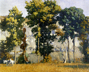 Art Prints of Quarries at Byram, September by Daniel Garber
