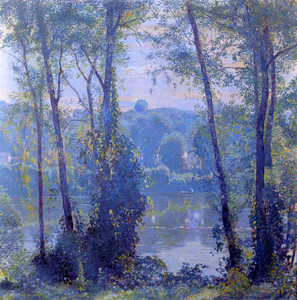 Art Prints of River Idyl by Daniel Garber
