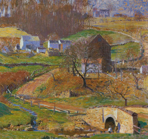 Art Prints of Rural Landscape by Daniel Garber