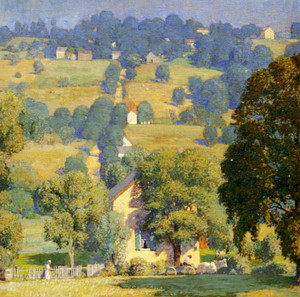 Art Prints of Road to Solebury by Daniel Garber
