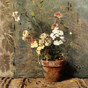 Art Prints of September, Still Life with Flowers by Daniel Garber
