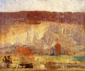 Art Prints of The Quarry, Evening by Daniel Garber