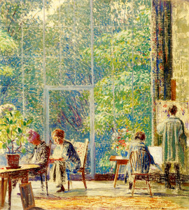 Art Prints of The Studio by Daniel Garber