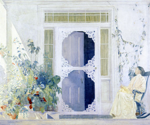 Art Prints of The White Porch by Daniel Garber