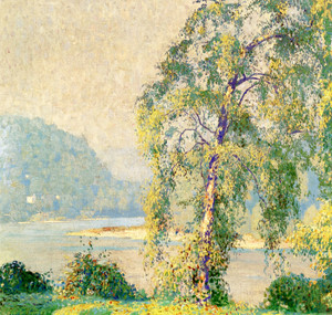 Art Prints of Water Birch, Summer by Daniel Garber