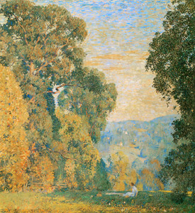 Art Prints of Weatherby's Oak by Daniel Garber