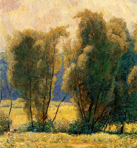 Art Prints of Willows Noonday by Daniel Garber