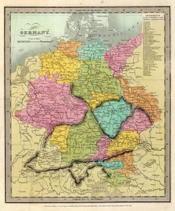 Art Prints of Germany, 1835 (4628011) by David H. Burr
