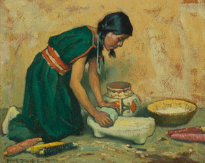 Art Prints of Pueblo Indian Girl by Eanger Irving Couse