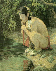 Art Prints of Spirit in the Pool by Eanger Irving Couse
