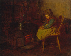 Art Prints of Home and Warmth by Eastman Johnson