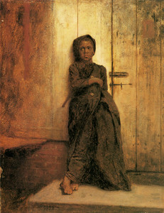 Art Prints of The Chimney Sweep by Eastman Johnson