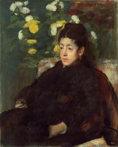 Art Prints of Mademoiselle Malo by Edgar Degas
