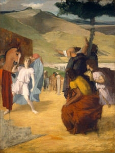 Art Prints of Alexander and Bucephalus by Edgar Degas