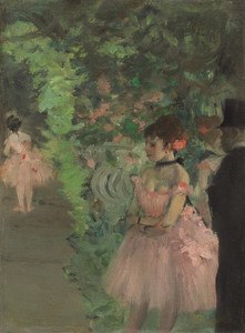 Art Prints of Dancers Backstage by Edgar Degas