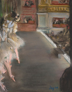 Art Prints of Dancers at the Old Opera House by Edgar Degas