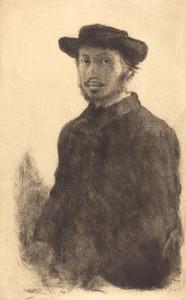 Art Prints of Self Portrait, 1857 by Edgar Degas