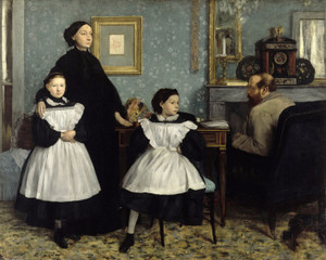 Art Prints of The Bellelli Family by Edgar Degas