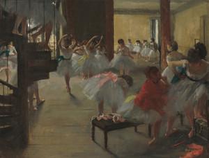 Art Prints of The Dance Class, 1873 by Edgar Degas