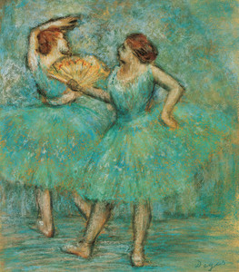 Art Prints of Two Dancers II by Edgar Degas
