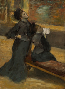 Art Prints of Visit to a Museum by Edgar Degas