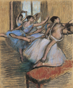 Art Prints of The Dancers by Edgar Degas