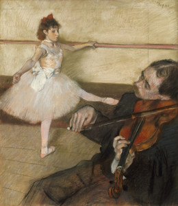 Art Prints of The Dance Lesson 1879 by Edgar Degas