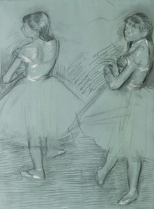 Art Prints of Two Dancers by Edgar Degas