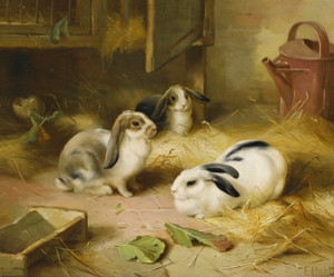 Art Prints of Emily's Pets by Edgar Hunt