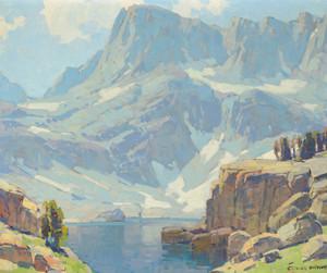 Art Prints of High Sierra Lake by Edgar Payne