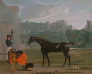 Art Prints of Outside the guard House at Windsor by Edmund Bristow